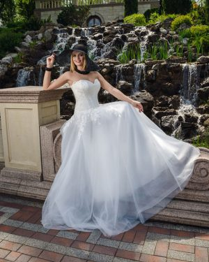 Сватбена рокля Диан Hadassa