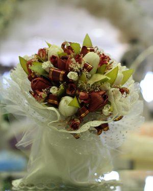 Булчински букет многоцветен