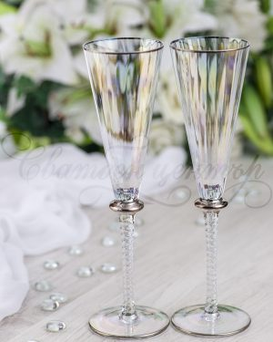 Кристални чаши Bella Iris Flute