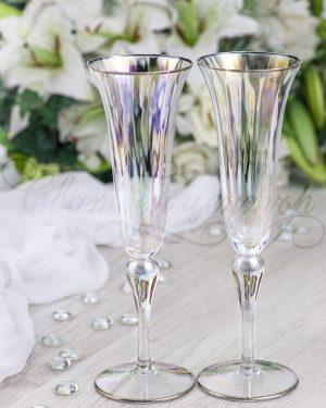 Кристални чаши Iris Flute