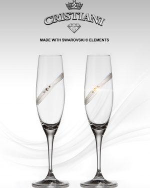 Кристални чаши CRISTIANI ринг