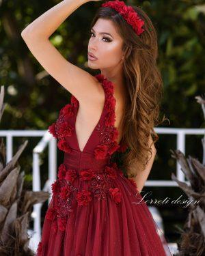 Абитуриентска рокля Бианка Флора Lorreti