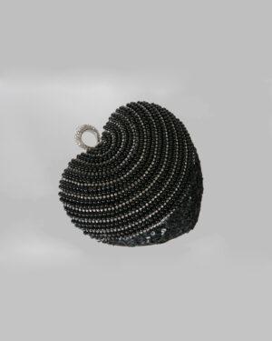 Официална дамска чанта с камъни и перли