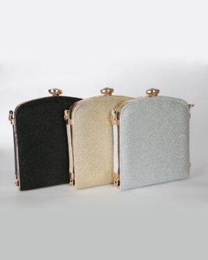 Официална дамска чанта с украшение