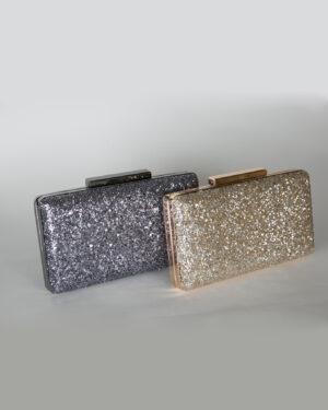 Официална дамска чанта с брокатени частици