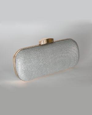 Официална дамска чанта с бляскави частици