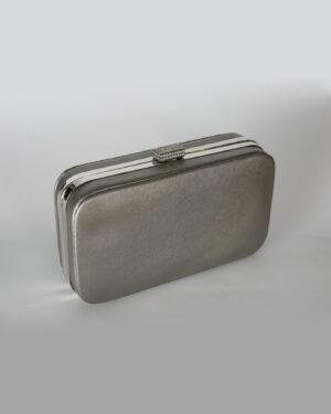 Официална дамска чанта с бляскав ефект