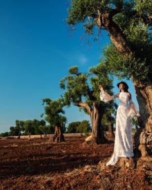 Сватбена рокля Абрил Hadassa