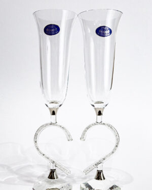 Кристални чаши CRISTIANI сърце