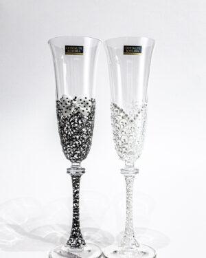 Кристални чаши Флейта