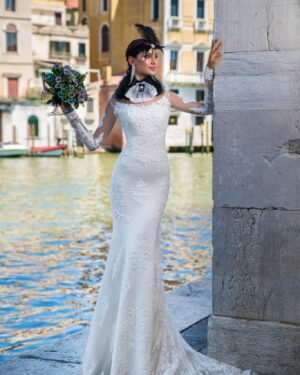 Сватбена рокля Логрено Hadassa