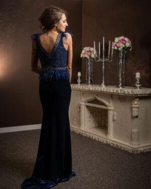 Абитуриентска рокля 55243 Rosha