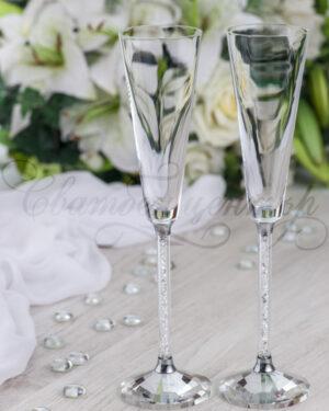 Кристални чаши Oleg Cassini