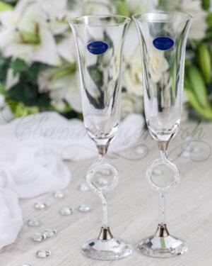 Кристални чаши CRISTIANI спирала