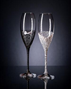 Кристални чаши Лале