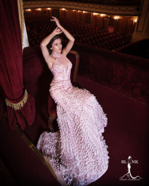 Абитуриентска рокля Pholidota Blink
