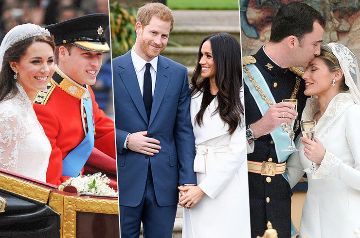 Как се женят съвременните принцове и принцеси в 10 страни по света