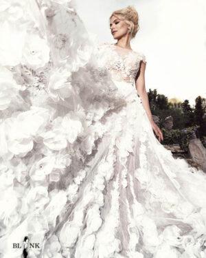 Сватбена рокля ANSELLIA BLINK by Radi Lazarova