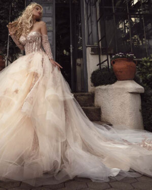 Сватбена рокля CALYPSO BLINK by Radi Lazarova