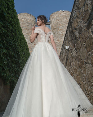 Сватбена рокля PAPHIOPEDILUM BLINK by Radi Lazarova