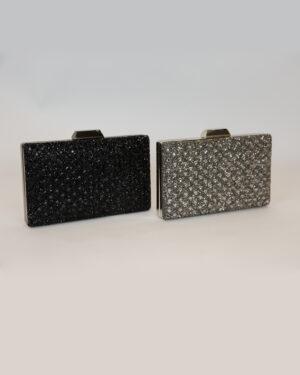 Официална дамска чанта с камъчета