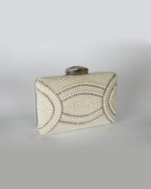 Булчинска чанта с камъни и перли
