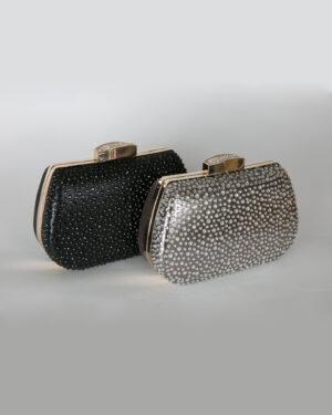 Официална дамска чанта с камъни