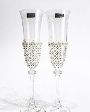Рисувани кристални чаши