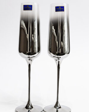 Кристални чаши с опушен ефект