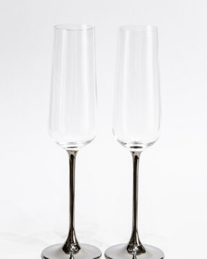 Кристални сватбени чаши