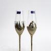 Кристални чаши King&Queen със златен обков