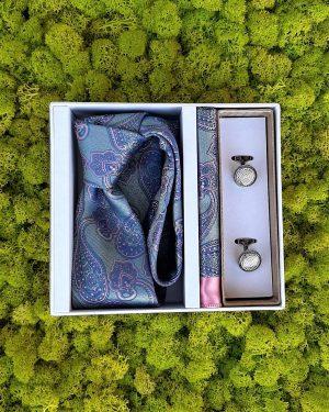 Луксозен комплект с ръкавели
