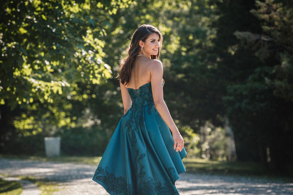 Абитуриентска рокля по поръчка