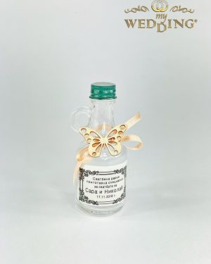 Подаръче стъклено шише М2