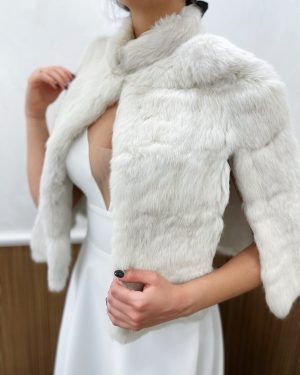 Палто естествен косъм №8