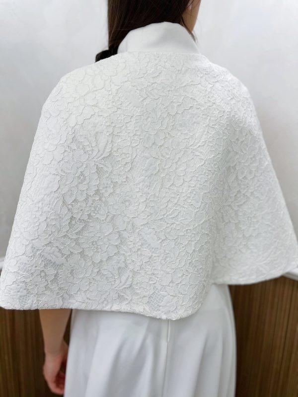 Дамско палто от дантела и кашмир