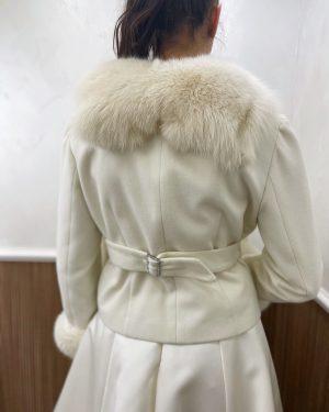 Палто естествен косъм №5