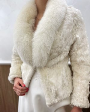 Палто естествен косъм №4
