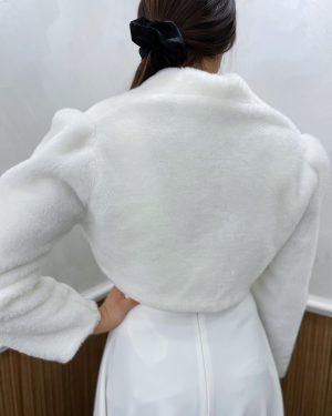 Дамско еко палто