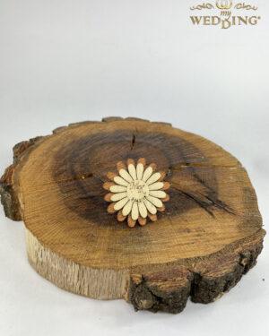 Дървено подаръче магнитче