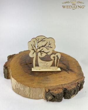 Дървено подаръче