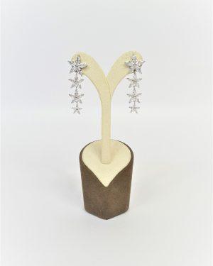 Висящи обеци с камъчета