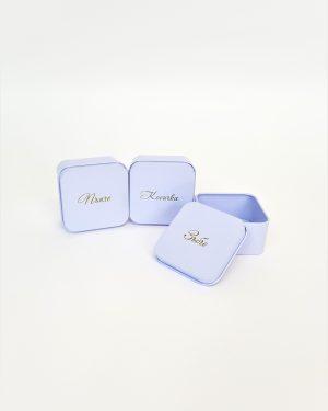 Кутийка за зъбче, пъпче и косичка