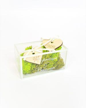 Кутия за халки плексиглас